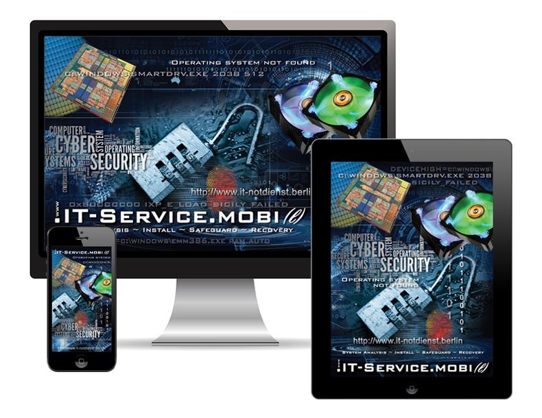 IT-Service auf PC, iPad und iPhone